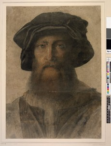Tometeo Viti Autoportrait le maître d Urbin British Museum
