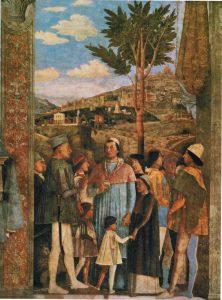 Andrea Mantegna Chambre des époux Palais ducal de Mantoue La rencontre Image Web Gallery of Art