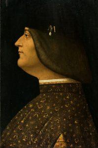 Boltraffio Ludovic le more Collection privée Milan