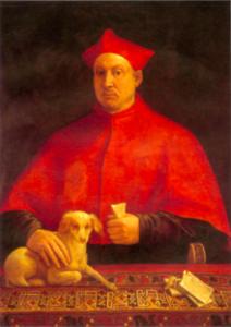 Sebastiano del Piombo Cardinal Pompeo Colonna Palais Colonna