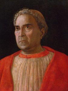 Andrea Mantegna Cardinal Ludovico Trevisan surnommé Mezzarota Gemälde Galerie Berlin Image Google Arts & Culture