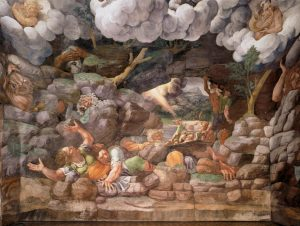 Giulio Romano Salle des Géants Mur sud Palais du Té Image Web Gallery of Art