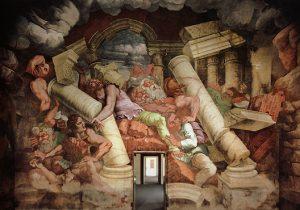Giulio Romano La défaite des Titans Salle des Géants Palais du Té Mantoue Image Web Gallery of Art