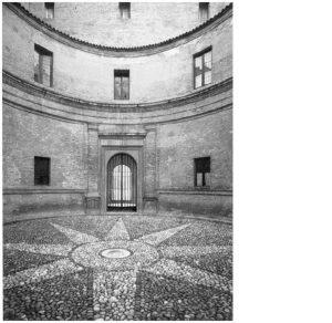 La cour de la maison Mantegna a Mantoue Image extraite du site Cairn Article de Delphine Carrangeot