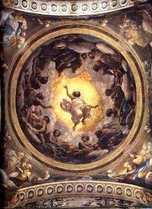 Le Correge 1489-1534 La montee du Christ au Paradis (1520-1523) Eglise San-Giovanni Evangelista Parme