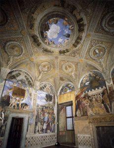 Andrea Mantegna La chambre des poux Vue d'Ensemble Image Web Gallery of Art