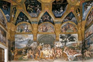 Giulio Romano Le banquet des Dieux Mur sud Salle de Psyché Palais du Té Image Web Gallery of Art