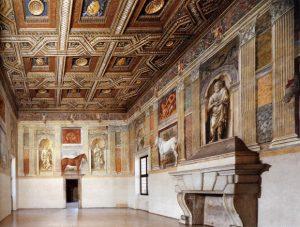 Giulio Romano & élèves Salle des chevaux Palais du Té Mantoue