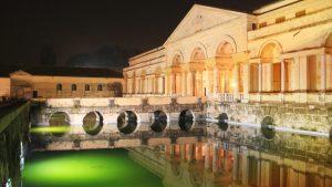 Le palais du Te de nuit Image Site Arsitmaraviglia.it