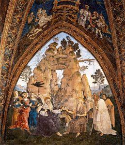 Appartement Borgia Pinturicchio Ermites Saint Paul et Saint Antoine Image Wikimedia
