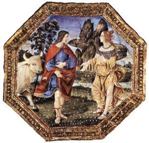 Appartement Borgia Pinturicchio Salle des Saints Osiris Apis Image Wikimedia