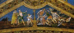 Appartement Borgia Salle des Saints Pinturicchio Episodes de la vie d'Isis et Osiris Image Wikimedia