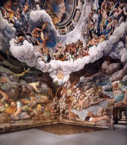 Giulio Romano Salle des géants Palais du Té Mantoue