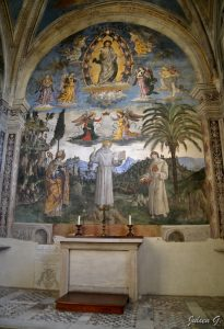 Pinturicchio Vie de Saint Bernardin Chapelle Bufalini Eglise des Aracoeli Capitole Image