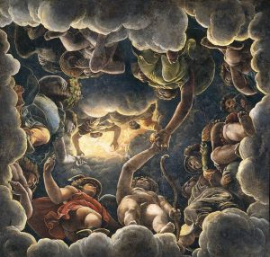 Giulio Romano Plafond de la salle de Psyché L'olympe Image Web Gallery of Art