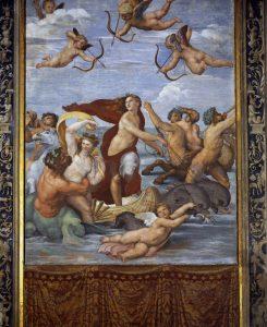 Raphael Farnesina Le Voyage de Galatée Image Web Gallery of Art