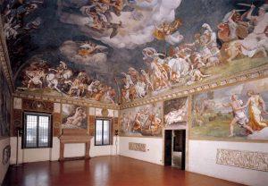 Giulio Romano La salle de Troie Palais ducal de Mantoue Image Web Gallery of Art